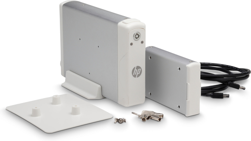 HP 2NR12A behuizing voor opslagstations HDD-behuizing Zilver