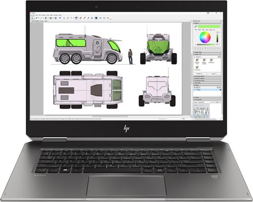 "HP ZBook Studio x360 G5 Silver Mobile workstation 39.6 cm (15.6"") 1920 x 1080 pixels Touchscreen 8th gen Intel® Core™ i5 8 GB D"
