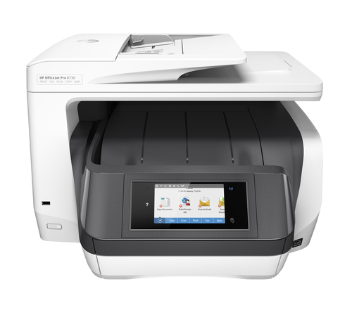 HP OfficeJet Pro 8730 Thermische inkjet 2400 x 1200 DPI 24 ppm A4 Wi-Fi