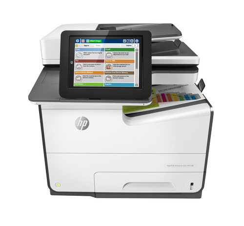 HP PageWide Enterprise Color 586f Thermal Inkjet 2400 x 1200 DPI 50 ppm A4