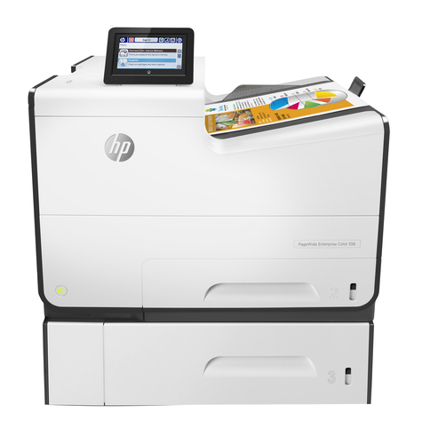 HP PageWide Enterprise Color 556xh inkjet printer Colour 2400 x 1200 DPI A4 Wi-Fi