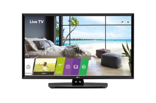 """LG 49LU661H hospitality tv 124,5 cm (49"""") Full HD 400 cd/m² Zwart Smart TV 10 W"""
