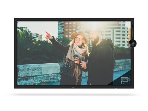 "NEC MultiSync C751Q SST Digitale signage flatscreen 190,5 cm (75"") LED 4K Ultra HD Zwart Touchscreen"