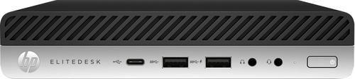 HP EliteDesk 705 G4 AMD Ryzen 3 2200GE 8 GB DDR4-SDRAM 256 GB SSD Mini PC Black,Silver Windows 10 Pro