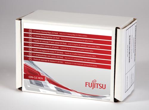 Fujitsu CON-CLE-W24 computerreinigingskit Scanner Vochtige doekjes voor apparatuurreiniging