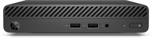 HP 260 G3 7th gen Intel® Core™ i3 i3-7130U 4 GB DDR4-SDRAM 128 GB SSD Mini PC Black Windows 10 Home