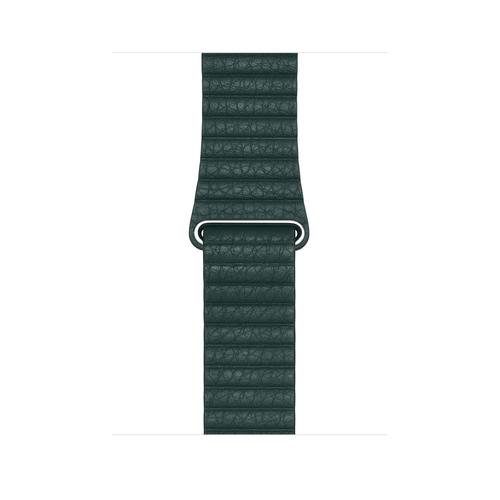 Apple MTH82ZM/A smartwatch-accessoire Band Groen Leer