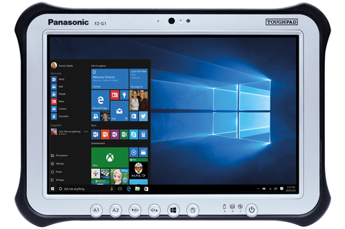 Panasonic Toughpad FZ-G1 MK5 tablet 7th gen Intel® Core™ i5 i5-7300U 256 GB Black,Silver