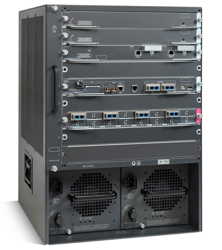 Cisco 6509-E, Refurbished network equipment chassis 15U