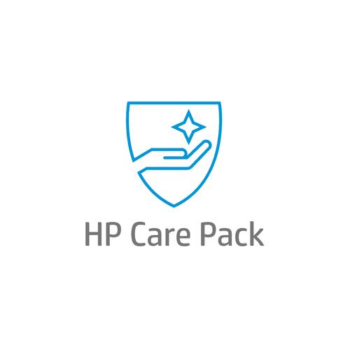 HP 4 jaar NextBusDay HW supp voor middelgrote monitor