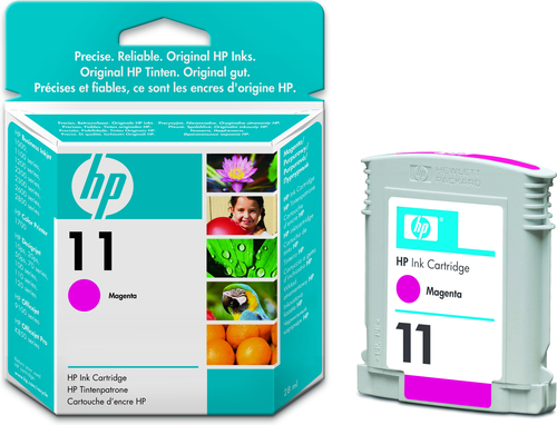 HP 11 ink cartridge 1 pc(s) Original Standard Yield Magenta