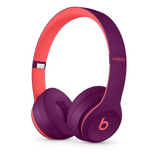 Apple Beats Solo3 Headset Hoofdband 3,5mm-connector Micro-USB Bluetooth Magenta, Roze