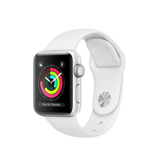 Apple Watch Series 3 OLED Silver GPS (satellite) smartwatch