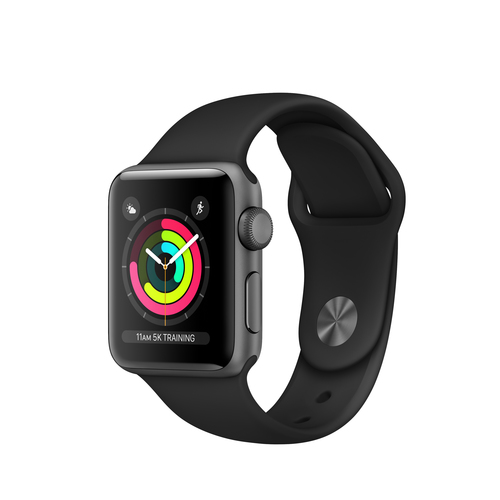 Apple Watch Series 3 OLED Grey GPS (satellite) smartwatch