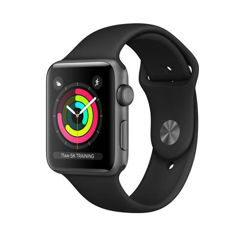 Apple Watch Series 3 smartwatch Grijs OLED GPS