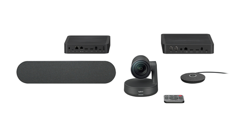 Logitech Rally video conferencing system Group video conferencing system 10 person(s) Ethernet LAN