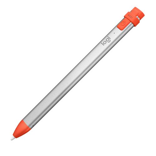 Logitech Crayon stylus-pen 20 g Oranje, Zilver