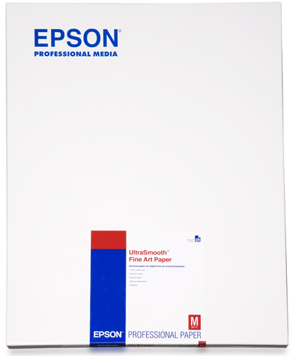 Epson Ultrasmooth Fine Art Paper, DIN A2, 325g/m², 25 Sheets
