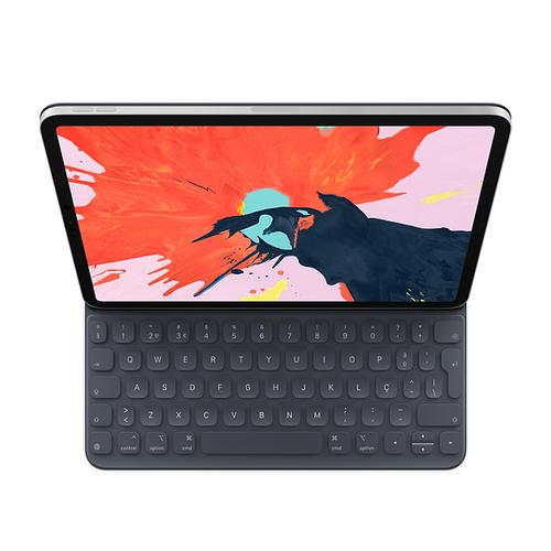 Apple MU8G2PO/A mobile device keyboard Black QWERTY Portuguese