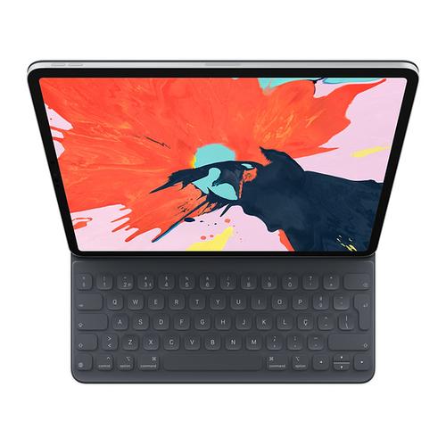 Apple MU8H2PO/A mobile device keyboard Black QWERTY Portuguese