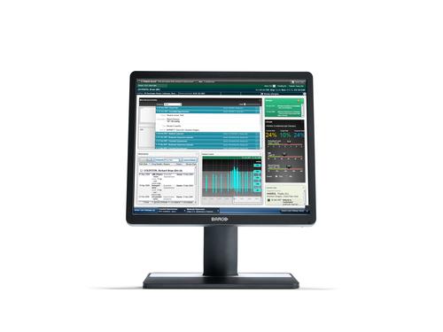"Barco MDRC-1219 48.3 cm (19"") 1280 x 1024 pixels Multi-touch Tabletop Black"