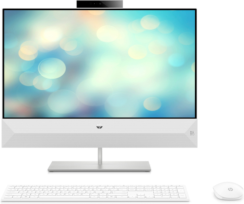 "HP Pavilion 24-xa0006na 60.5 cm (23.8"") 1920 x 1080 pixels AMD Ryzen 7 8 GB DDR4-SDRAM 2128 GB HDD+SSD Wi-Fi 5 (802.11ac) White"