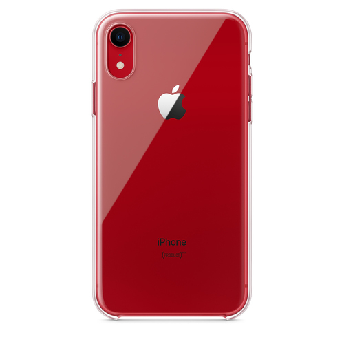 Apple MRW62ZM/A mobiele telefoon behuizingen Hoes Transparant