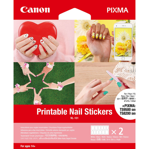 Canon NL-101 Printable Nail Stickers 2sh