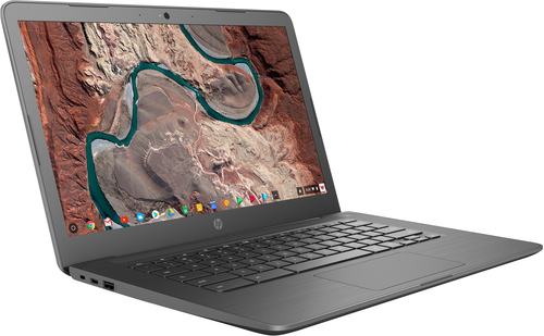 """HP Chromebook 14-db0003na 35.6 cm (14"""") HD 7th Generation AMD A4-Series APUs 4 GB DDR4-SDRAM 32 GB eMMC Wi-Fi 5 (802.11ac) Chro"""