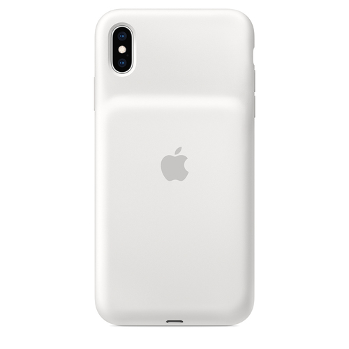 "Apple MRXR2ZM/A mobile phone case 16.5 cm (6.5"") Skin case Microfiber, Silicone White"