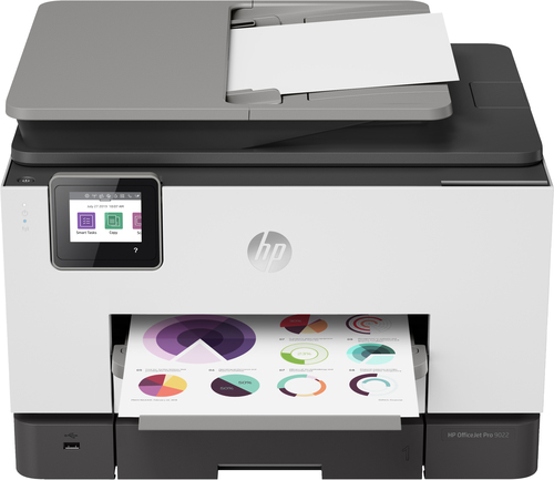HP OfficeJet Pro 9022 All-in-one wireless printer Print,Scan,Copy from your phone, Instant Ink ready & voice activated (works w