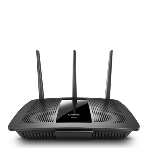 Linksys EA7300 draadloze router Gigabit Ethernet Dual-band (2.4 GHz / 5 GHz) Zwart