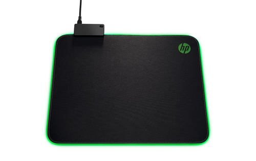 HP 400 Black,Green Gaming mouse pad