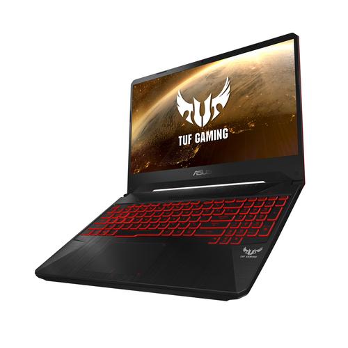 "ASUS TUF Gaming FX505DY-BQ009T notebook Black 39.6 cm (15.6"") 1920 x 1080 pixels AMD Ryzen 5 3550H 8 GB DDR4-SDRAM 256 GB SSD"