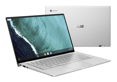"ASUS Chromebook Flip C434TA-AI0109 Silver Hybrid (2-in-1) 35.6 cm (14"") 1920 x 1080 pixels Touchscreen 1.3 GHz 8th gen Intel® C"