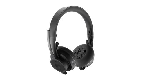 Logitech Zone Wireless Headset Hoofdband USB Type-A Bluetooth Zwart