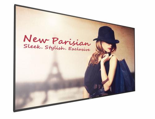 "Philips 65BDL4150D Digitale signage flatscreen 163,8 cm (64.5"") 4K Ultra HD Zwart Android 7.1.2"
