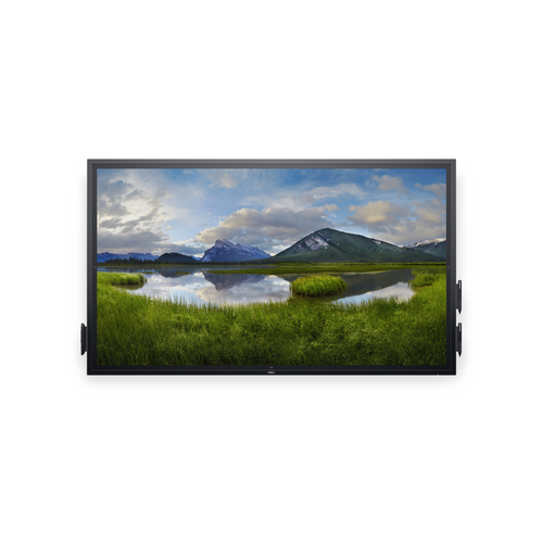 "DELL C7520QT touch screen monitor 189.2 cm (74.5"") 3840 x 2160 pixels Black Multi-touch Multi-user"