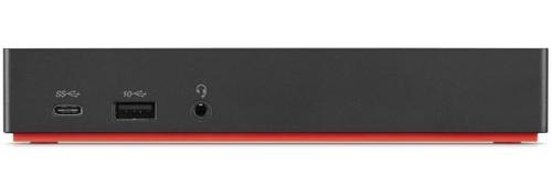 Lenovo ThinkPad USB-C Dock Gen 2 Wired USB 3.2 Gen 1 (3.1 Gen 1) Type-C Black