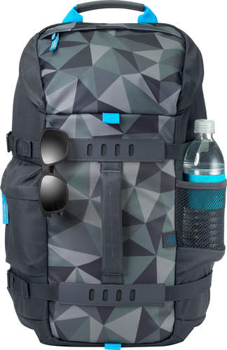 """HP Odyssey notebook case 39.6 cm (15.6"""") Backpack Grey, Multicolour"""