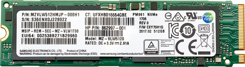 HP 6SK99AA M.2 1000 GB PCI Express 3.0 TLC NVMe