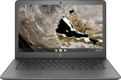 "HP Chromebook 14A G5 Grijs 35,6 cm (14"") 1920 x 1080 Pixels Touchscreen AMD A A4-9120C 4 GB DDR4-SDRAM 32 GB eMMC"