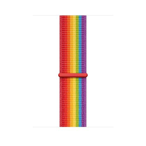 Apple MV9T2ZM/A watch band Watch bracelet Nylon Multicolor