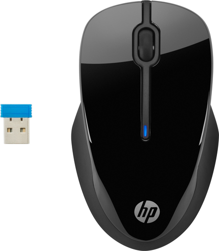 HP 3FV67AA mouse RF Wireless Blue LED 1600 DPI Ambidextrous