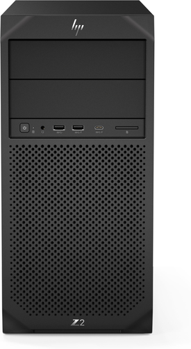 HP Z2 G4 DDR4-SDRAM i9-9900K Tower Intel® 9de generatie Core™ i9 32 GB 1000 GB SSD Windows 10 Pro Workstation Zwart