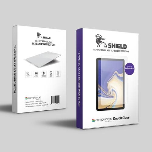 Compulocks DGSTA101 schermbeschermer Doorzichtige schermbeschermer Tablet Samsung 1 stuk(s)