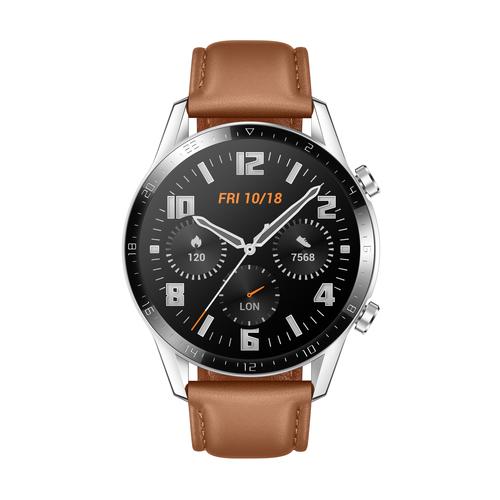 "Huawei WATCH GT 2 smartwatch Roestvrijstaal AMOLED 3,53 cm (1.39"") GPS"