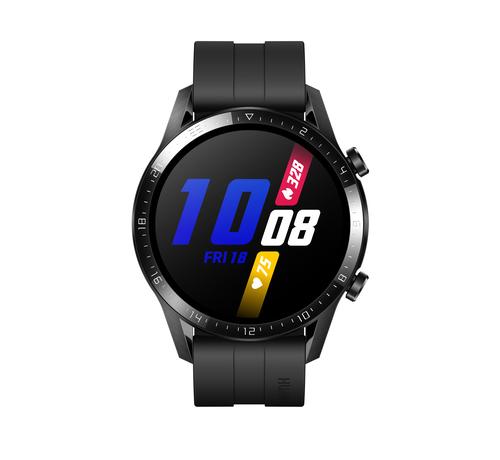 "Huawei WATCH GT 2 smartwatch Zwart AMOLED 3,53 cm (1.39"") GPS"