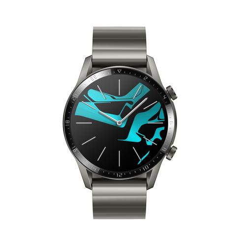 "Huawei WATCH GT 2 smartwatch Grijs, Titanium AMOLED 3,53 cm (1.39"") GPS"