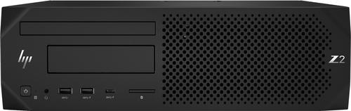 HP Z2 G4 i7-9700 SFF Intel® 9de generatie Core™ i7 8 GB DDR4-SDRAM 1000 GB HDD Windows 10 Pro Workstation Zwart